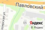 Схема проезда до компании Аква-Сити в Барнауле