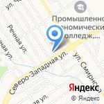 Многопрофильное агентство на карте Барнаула
