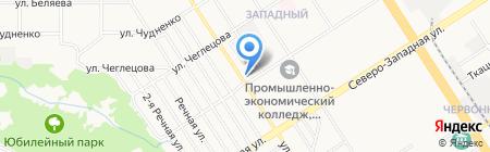 Городской аварийный комиссариат на карте Барнаула