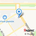 Алеко-сервис на карте Барнаула