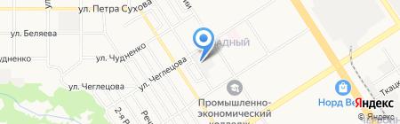 Altaisever на карте Барнаула