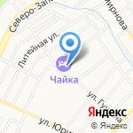 Отдыхалов на Чайке на карте Барнаула