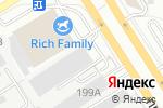 Схема проезда до компании Форд Партнер в Барнауле