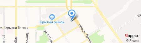 СИБКЛИНИНГ-СИБИРЬ на карте Барнаула