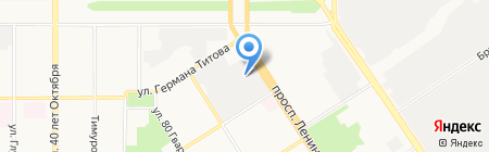 Kimberly-Clark на карте Барнаула