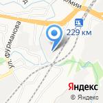 Автомагия на карте Барнаула