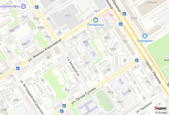 жилой комплекс ул. 1-ая Западная, 44А