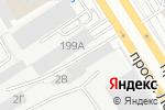 Схема проезда до компании Palet в Барнауле
