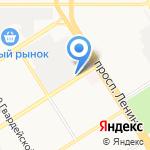 Барнаул-Спецодежда на карте Барнаула