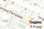 Схема проезда до компании Наш любимый магазин в Барнауле