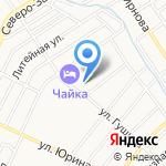 Детский сад №93 на карте Барнаула