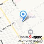Центр утилизации компьютерной техники и приема отходов драгоценных металлов на карте Барнаула