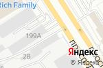 Схема проезда до компании Пальма в Барнауле