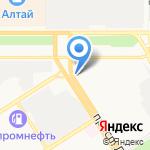 Детский стоматологический центр на карте Барнаула