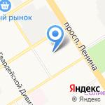 Звуковичок на карте Барнаула