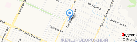 Елизавета на карте Барнаула