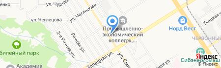 Радость на карте Барнаула