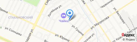 Продуктовый минимаркет на карте Барнаула