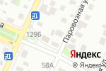 Схема проезда до компании Машина времени в Барнауле