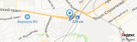 ИВК-Плюс на карте Барнаула