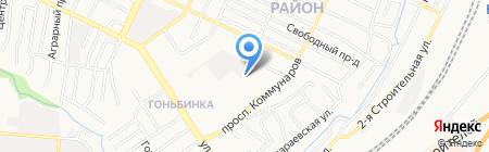 Тактика на карте Барнаула