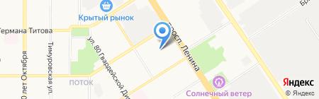 АлтайМеталлДизайн на карте Барнаула