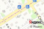 Схема проезда до компании Баня на дровах в Барнауле