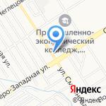 На Смирнова на карте Барнаула