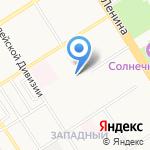 Жажда на карте Барнаула