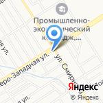 Ребус на карте Барнаула
