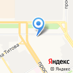 Сибирская Компания Строй-Инвест на карте Барнаула
