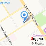 СМТУ Росстандарта на карте Барнаула