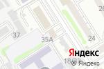 Схема проезда до компании Корсар в Барнауле