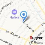 Визит на карте Барнаула