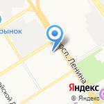 Алтис на карте Барнаула