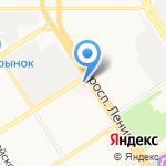 Алтайский краевой центр крови на карте Барнаула