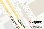 Схема проезда до компании Велес в Барнауле