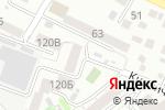 Схема проезда до компании Практика в Барнауле