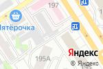 Схема проезда до компании Алтис в Барнауле