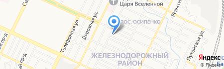 Ветпрактика на карте Барнаула