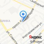 Технологии современных проектов на карте Барнаула
