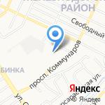 Ульеград на карте Барнаула