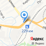 Братья Грилль на карте Барнаула
