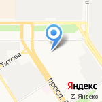Барнаульский центр Высшего Водительского Мастерства на карте Барнаула