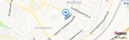 Алтайский пчелоцентр на карте Барнаула