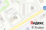 Схема проезда до компании Надежда, САО в Барнауле