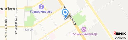 COMEDY CLUB на карте Барнаула