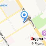 Ингосстрах на карте Барнаула