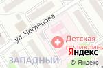 Схема проезда до компании Детская городская больница №5 в Барнауле