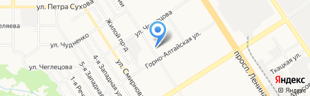 Магазин сантехники на карте Барнаула
